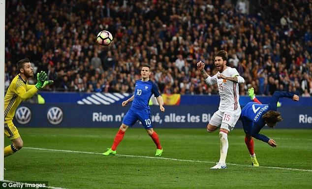 Pháp đã nhận thất bại cay đắng ngay tại Stade de France