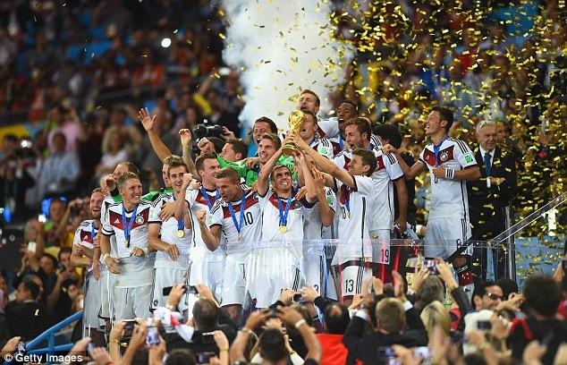 Nhà vô địch thế giới Đức nằm ở bảng đấu khá nặng với Thụy Điển, Mexico và Hàn Quốc