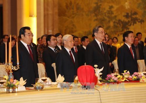 Tổng Bí thư Nguyễn Phú Trọng hội kiến Chủ tịch Chính hiệp Du Chính Thanh - 1