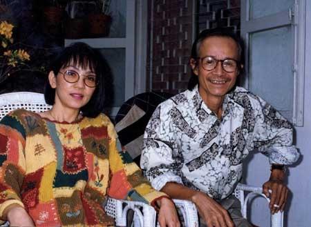 Nhạc sĩ Trịnh Công Sơn và Dao Ánh tái ngộ sau 20 năm