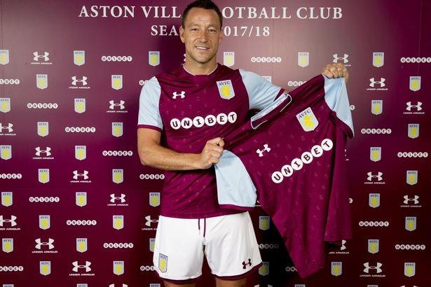 John Terry chính thức gia nhập Aston Villa