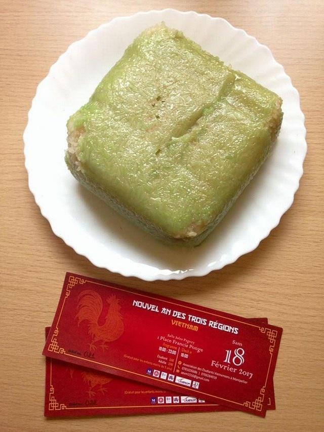 Gói bánh chưng là một hoạt động tiền sự kiện đón Tết muộn của du học sinh Việt tại Montpellier vào ngày 18/2 tới.
