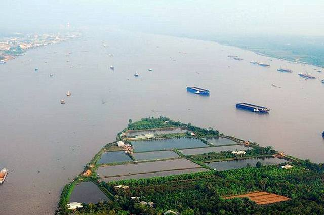 Nguồn nước ở ĐBSCL đang bị đe dọa