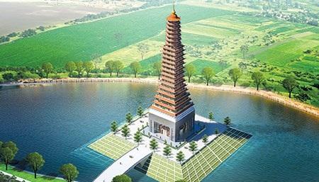 Tỉnh Thái Bình đang hoàn tất các thủ tục để tiến hành khởi công cây dựng một toà tháp 25 tầng với mức đầu tư gần 300 tỷ đồng, được huy động từ nguồn xã hội hóa.