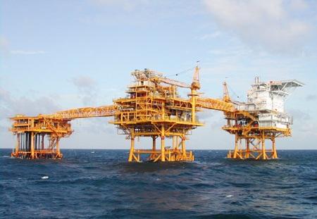 Một trong những dàn khoan dầu khí của Việt Nam ở Biển Đông (ảnh minh họa)