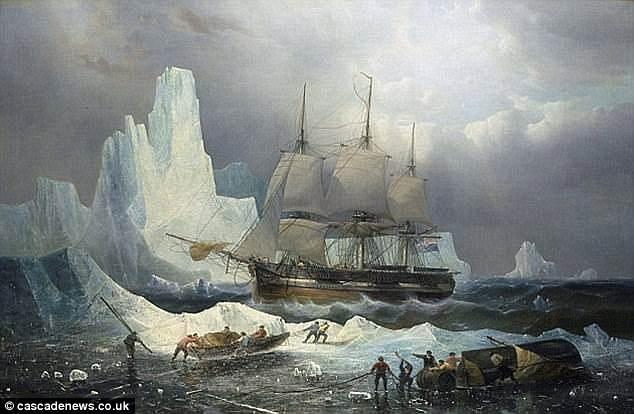 Hai tàu thám hiểm do Đô đốc Anh John Franklin đã không bao giờ có thể quay về.