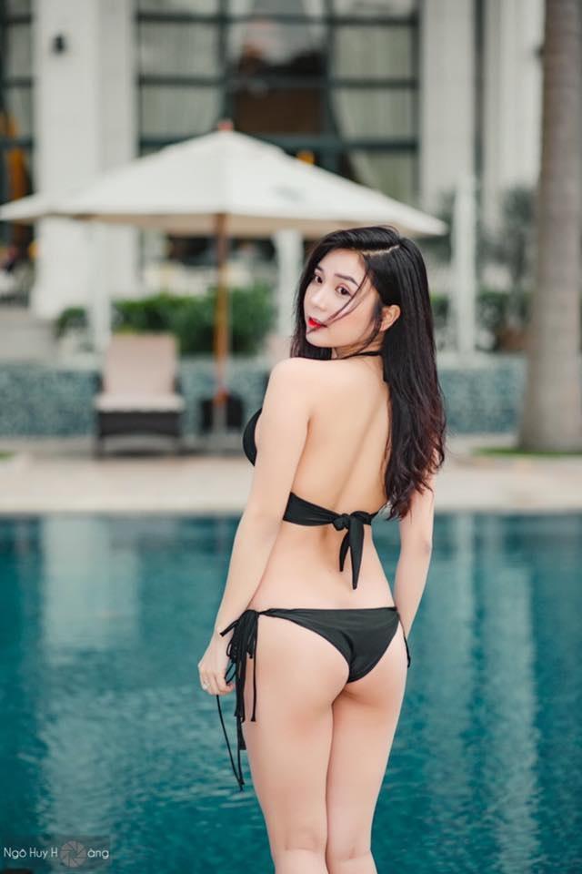 Nhan sắc quyến rũ của hot girl Thanh Bi - nữ diễn viên vào vai Vân Điệp (Người phán xử).