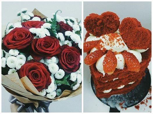 Siêu mẫu Thanh Hằng cũng chia sẻ món quà cô nhận được trong ngày Valentine cùng dòng trạng thái hạnh phúc: Mình vừa nhận được hoa và bánh, cái nào cũng đẹp... Ngọt nhất là vài chữ trong tấm thiệp kèm theo, vậy là tỏ tình hả ta??? Năm nay đào hoa rồi.