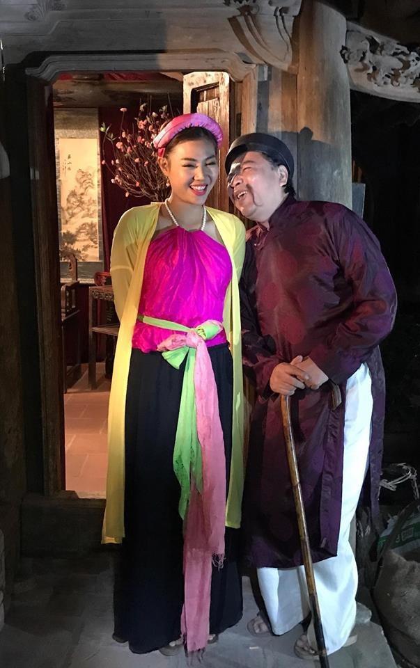 Thanh Hương vào vai bà Lý Trưởng trong Chôn nhời 5.