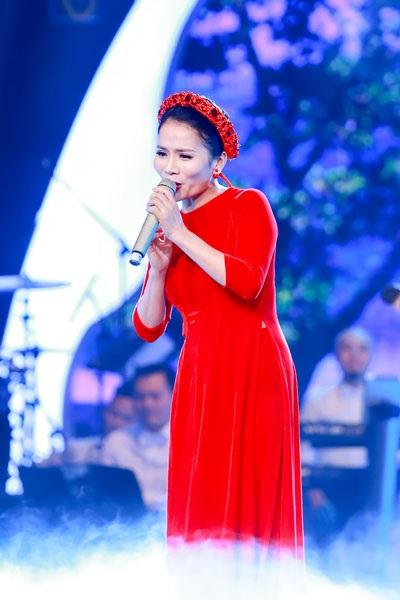 Ca sĩ Thành Lê cũng tham gia chương trình.