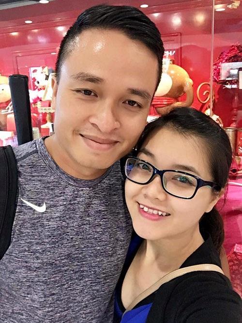 Ca sĩ Thanh Ngọc và chồng