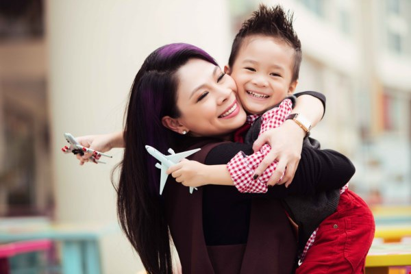 Búp bê Thanh Thảo và con trai nuôi Jacky Minh Trí