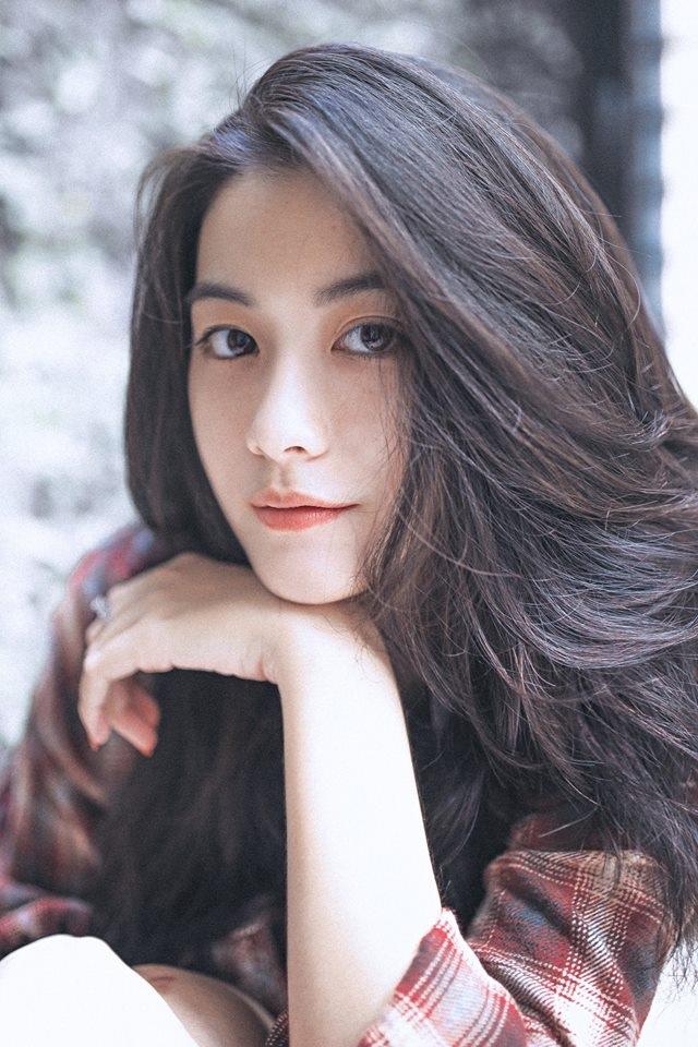 Gương mặt hoàn hảo tự nhiên, không tì vết của nữ sinh Nguyễn Vi - 3