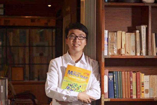 Thầy Trịnh Quỳnh - giáo viên Văn trường THPT Lương Thế Vinh (Nam Định).