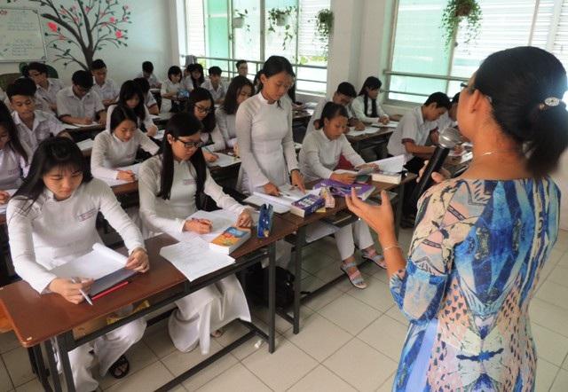 Học sinh TPHCM sẽ đối thoại với lãnh đạo ngành giáo dục thành phố về văn hóa ứng xử học đường (Ảnh minh họa)