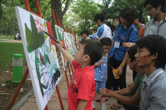 Hãy để những cuộc thi là niềm vui cho trẻ. (Ảnh minh họa không liên quan đến bài viết). (Ảnh: Q.Anh)