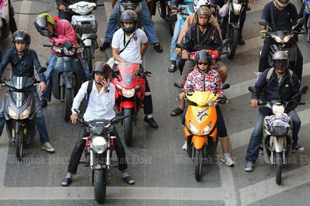 Thị trường xe máy Thái Lan trên đà hồi phục - 1