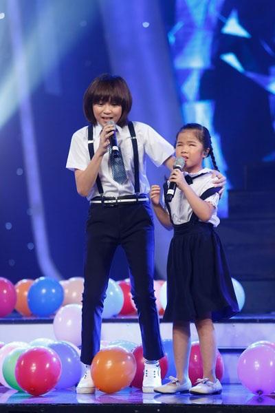Thiên Khôi- Minh Hiền gây xúc động với ca khúc tự sáng tác Tung tăng.