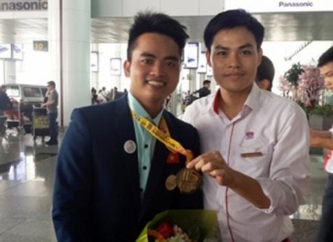 Nguyễn Văn Thiết - Huy chương Vàng kỳ thi tay nghề ASEAN