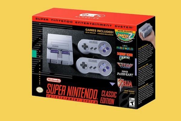 6. Máy chơi game Super Nintendo Entertainment System (SNES) Classic