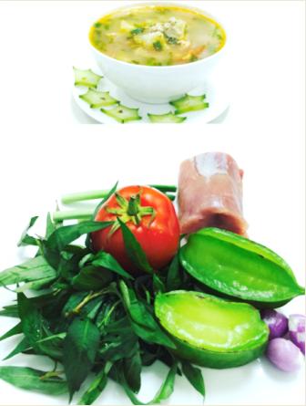 Thịt xay nấu khế không chỉ giã rượu mà còn tốt cho sức khỏe sau cơn say
