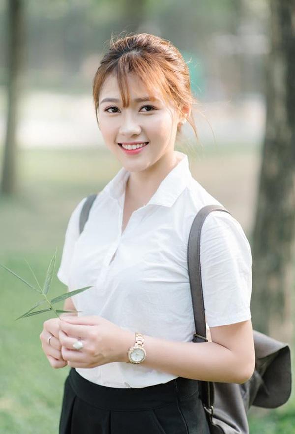 Vẻ đẹp khó rời mắt của cô gái đến từ Bắc Ninh.