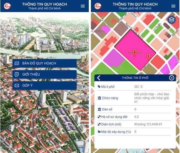 """Với """"bản đồ quy hoạch trực tuyến"""", người dùng có thể dễ dàng xem thông tin về các dự án quy hoạch của thành phố một cách dễ dàng hơn"""