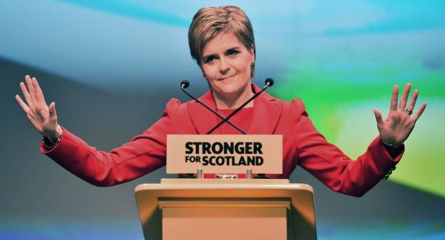Thủ hiến Scotland Nicola Sturgeon (Ảnh: Pink News)