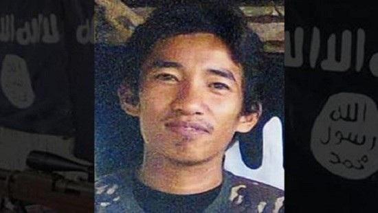 """Amin Baco, một kẻ có tên trong danh sách """"đen"""" bị tình nghi tiến hành một số vụ tấn công khủng bố tại hòn đảo Mindanao"""