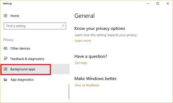 Chiêu tắt ứng dụng chạy ngầm giúp Windows 10 hoạt động mượt mà hơn - 3