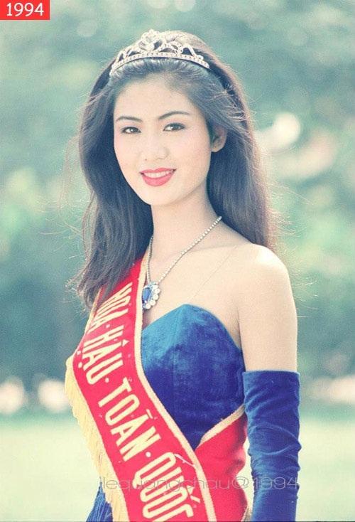 Từ khi đăng quang vào năm 1994 đến nay, Hoa hậu Việt Nam Thu Thủy vẫn giữ được vẻ đẹp sắc sảo, kiêu kỳ. Gương mặt của cô tuyệt nhiên không có sự can thiệp của dao kéo từ đó đến nay.