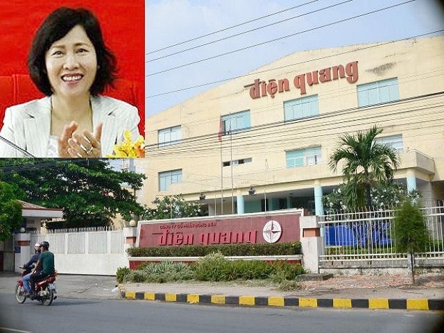 Giá cổ phiếu của Bóng đèn Điện Quang vẫn diễn biến tiêu cực sau những thông tin bất lợi liên quan đến bà Hồ Thị Kim Thoa mặc dù bà không còn giữ chức vụ điều hành nào tại doanh nghiệp này.