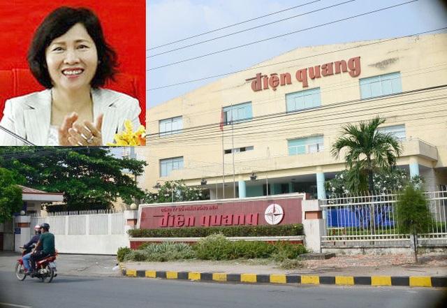 Gia đình Thứ trưởng Hồ Thị Kim Thoa có hàng trăm tỷ đồng tài sản cổ phiếu tại Bóng đèn Điện Quang.