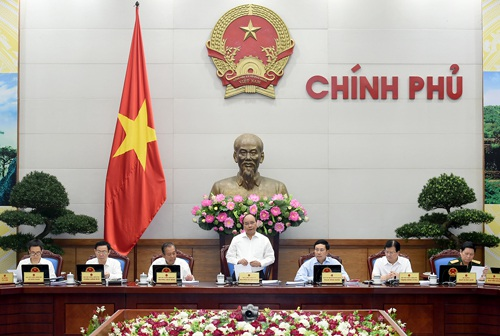 Phiên họp thường kỳ tháng 7 của chính phủ.