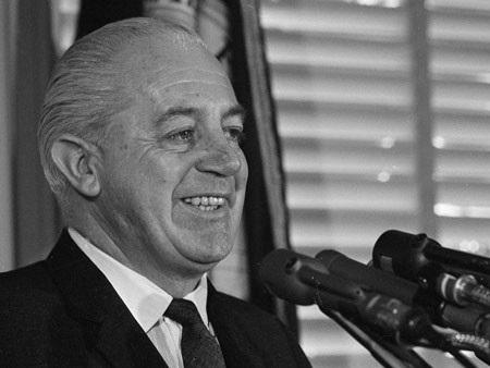 Cựu Thủ tướng Australia Harold Holt (Ảnh: SBS)