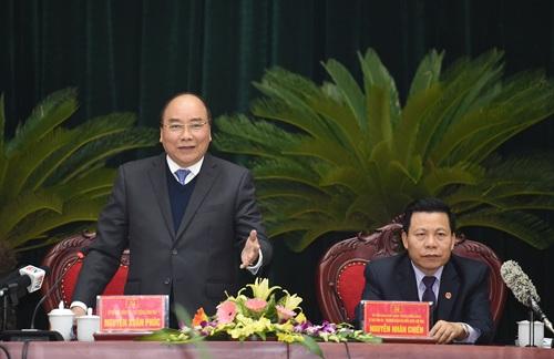 Thủ tướng làm việc với các lãnh đạo chủ chốt tỉnh Bắc Ninh