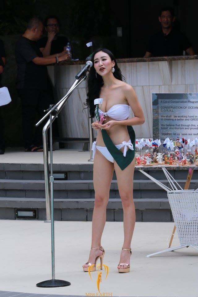 Đại diện Việt Nam tự tin diễn thuyết dù không giành được huy chương trong phần thi này.