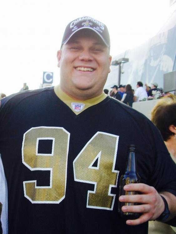 Josh LaJaunie trước khi giảm cân