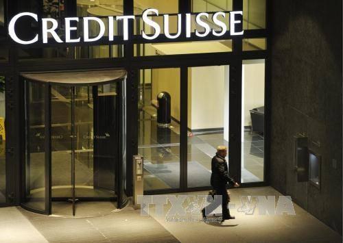Trụ sở ngân hàng Credit Suisse tại Zurich, Thụy Sĩ. Ảnh: EPA/TTXVN