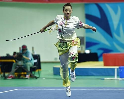 Dương Thúy Vi luôn có duyên mở hàng HCV cho Thể thao Việt Nam
