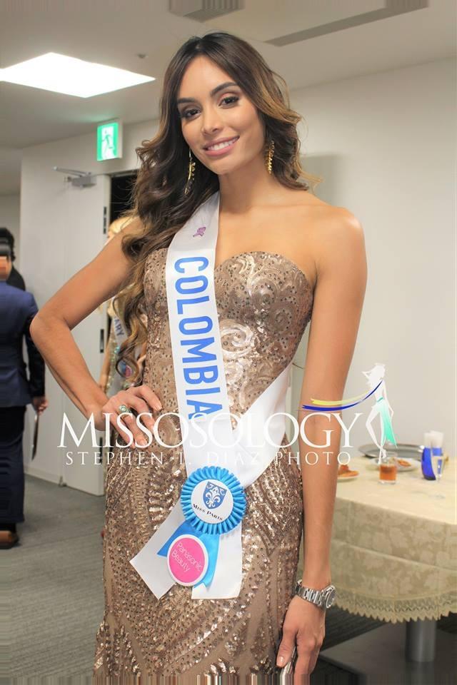 Thùy Dung đọ sắc cùng dàn thí sinh Hoa hậu Quốc tế 2017 - 19
