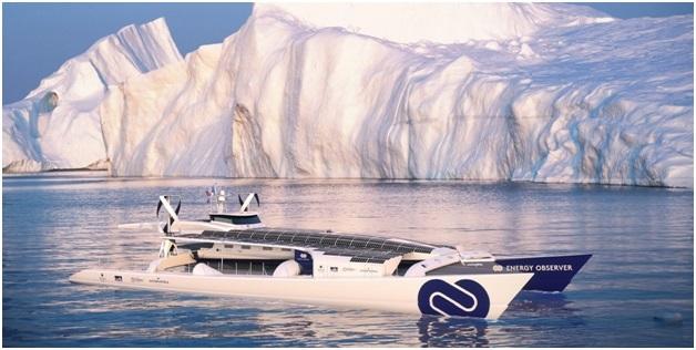 Chiếc thuyền tự nạp nhiên liệu để hành trình vòng quanh thế giới - 1