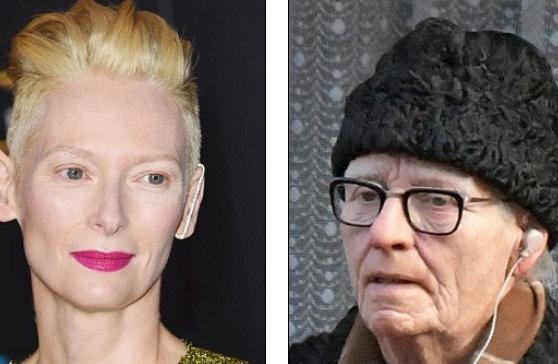 Chuyên viên trang điểm - hóa trang đã biến ngôi sao từng giành giải Oscar này thành một ông già tóc bạc, da nhăn nheo...