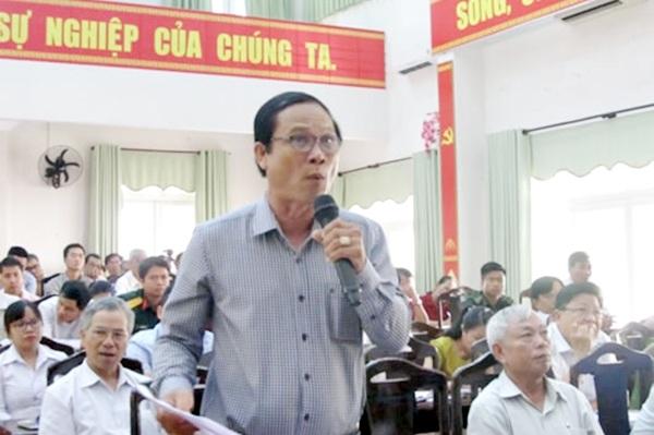Cử tri ở quận Liên Chiểu nêu nhiều vấn đề bức xúc trong buổi tiếp xúc với Đoàn đại biểu Quốc hội TP. Đà Nẵng