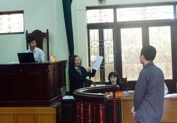 VKSND tỉnh Hưng Yên quy kết sai tội với bị cáo Đỗ Văn Chung.