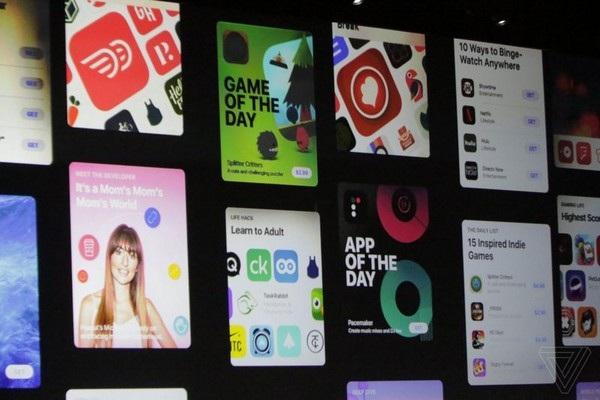 Kho ứng dụng App Store được thiết kế lại trên iOS 11