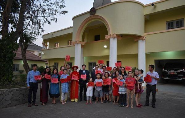 Đón Tết cổ truyền Việt Nam tại Nigeria - 4