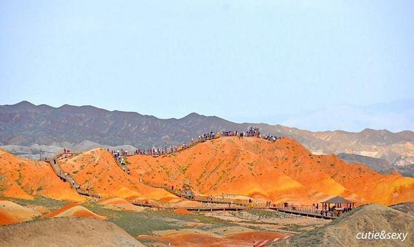 """""""Phượt"""" Cam Túc: Thám hiểm canyons, cưỡi lạc đà, camping trên sa mạc… - 3"""