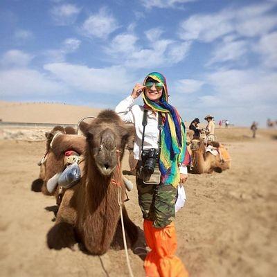 """""""Phượt"""" Cam Túc: Thám hiểm canyons, cưỡi lạc đà, camping trên sa mạc… - 16"""