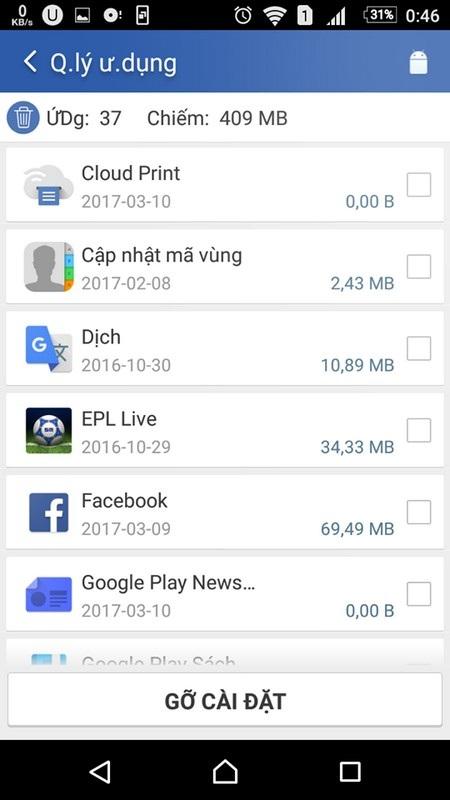 Quét dọn file rác để giúp thiết bị Android hoạt động mượt mà hơn - 4